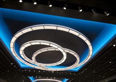 Marchetti illuminazione realizations ceiling custom lamps
