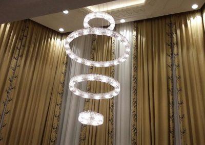 Marchetti illuminazione realizations suspended lamp